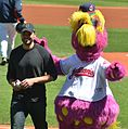 Tom Welling and Slider May 2013.jpg
