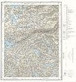 Topographic map of Norway, E35 vest Rjukan, 1966.jpg