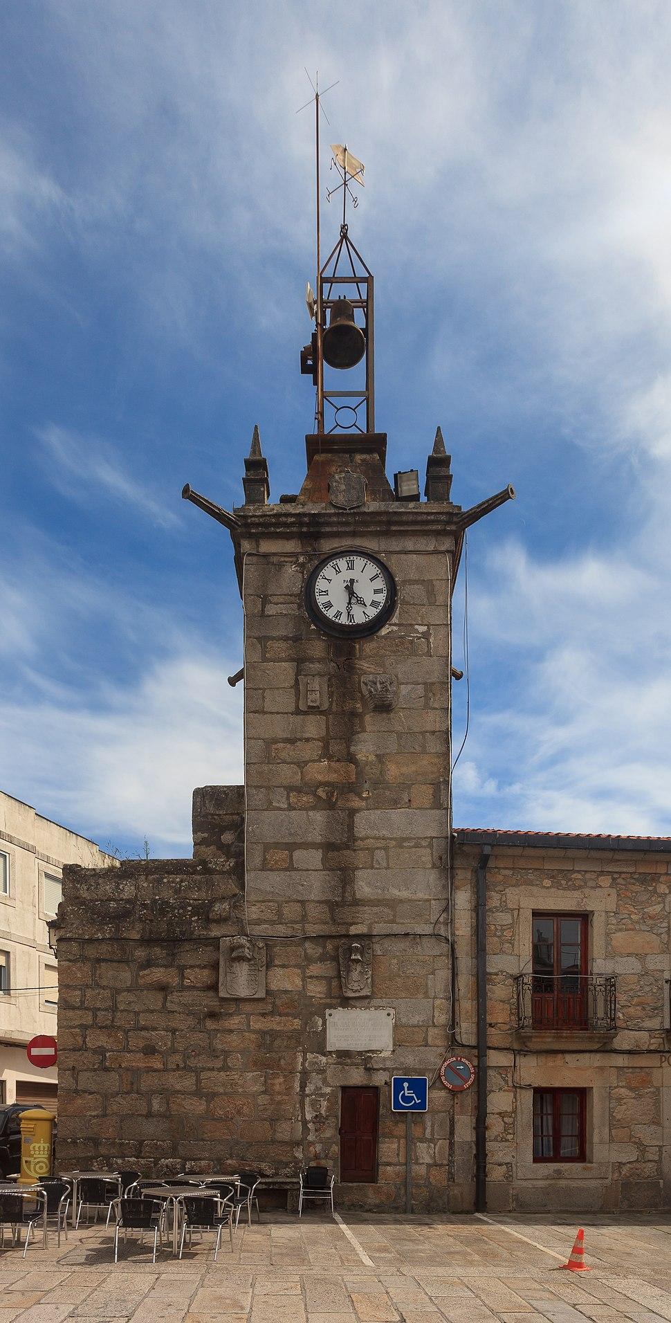 Torre da casa do concello da Guarda. Galiza G59