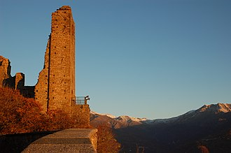 Sacra di San Michele - Tower of Bell'Alda.