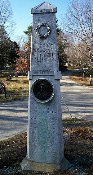 Charles Turner Torrey - Monument for Charles Turner Torrey at Mount Auburn Cemetery