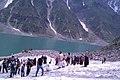 Tourists at Saiful Muluk Lake KPK Pakistan.jpg