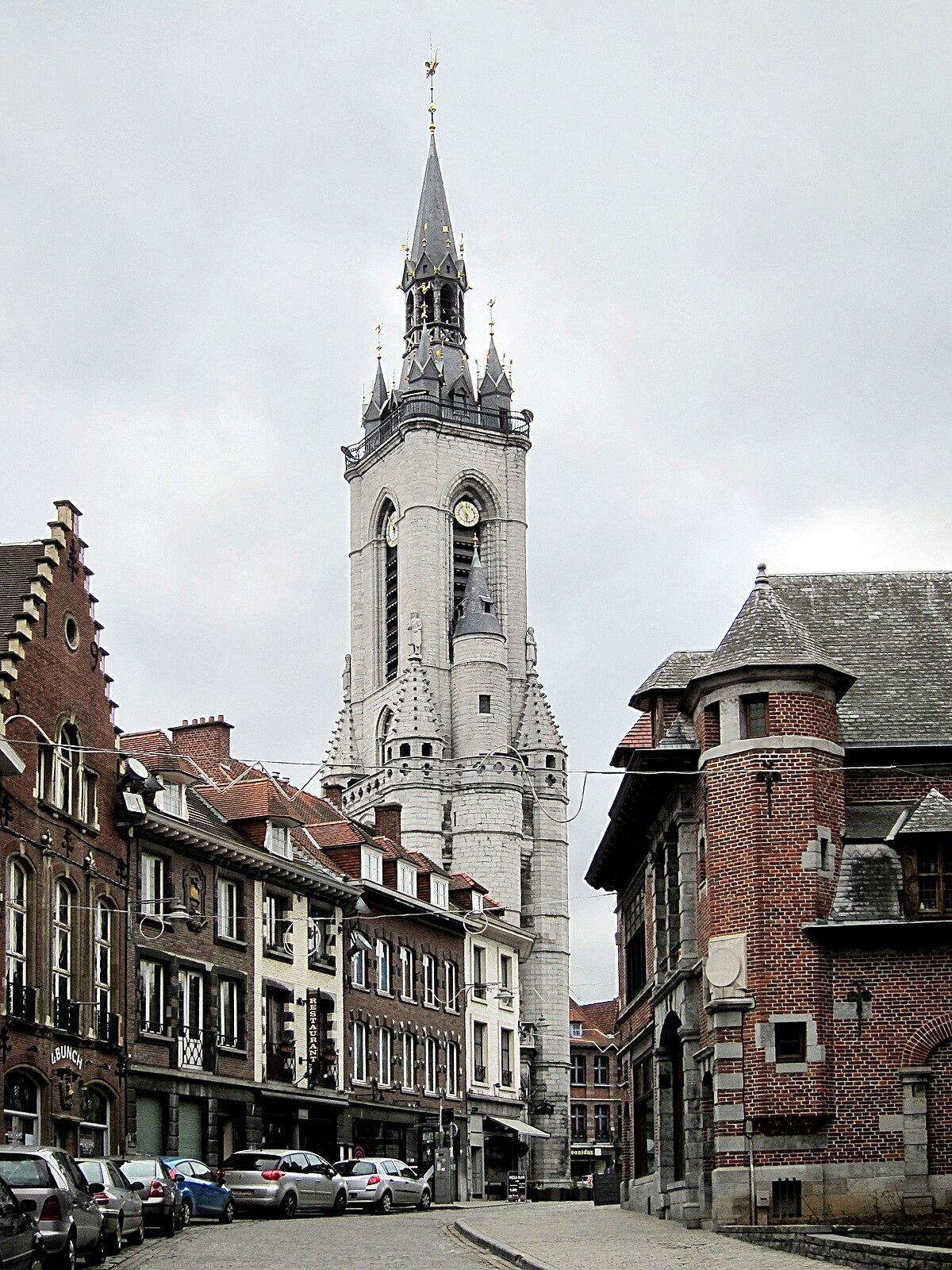 Beffroi De Tournai  U2014 Wikip U00e9dia