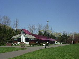 Makomanai Park - Salmon Museum inside the park