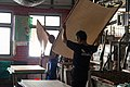 Traditional paper making Goang Xing Paper Mill Taiwan 01.jpg