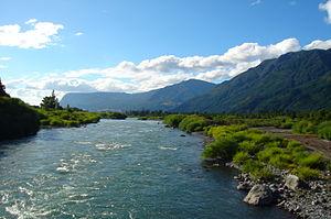 Trancura River - Image: Trancura