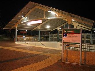 Maylands, Western Australia - Maylands railway station
