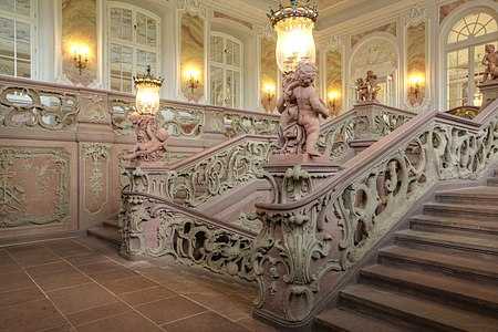 Kurfürstliches Palais Trier, staircase