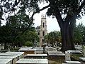 Trinity Episcopal-Tower from graveyard 2.JPG