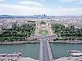 Trocadero Square in Paris.JPG
