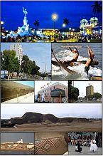 Photomontage of Trujillo