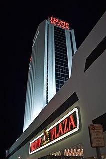 Trump Plaza Hotel and Casino Former hotel and casino in Atlantic City, New Jersey