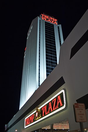 Legal affairs of Donald Trump - Trump Plaza Hotel and Casino closed its doors in 2014