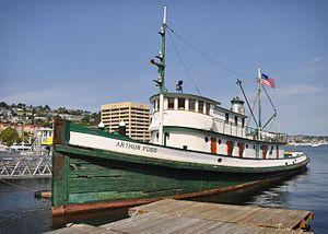 Arthur Foss - Image: Tugboat Arthur Foss 05+