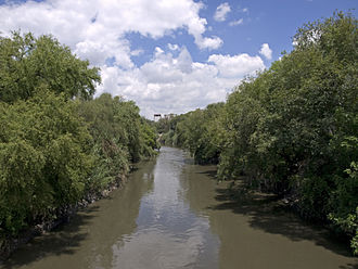 Tula River - Tula River in Tula de Allende.