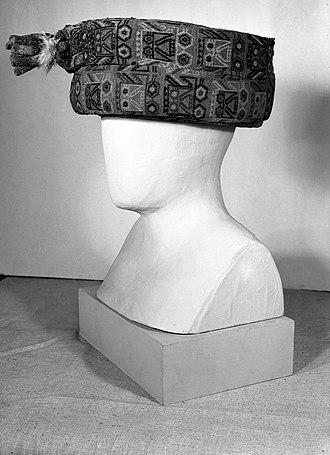 Paracas culture - Turban, Paracas, 300 B.C.E.-100 C.E, Brooklyn Museum