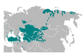 Turkic languages, location map.png