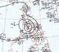 Typhoon Irma May 17, 1966 surface analysis.png