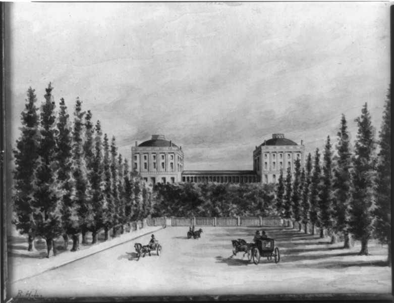 File:U.S. Capitol and Pennsylvania Avenue before 1814.tif