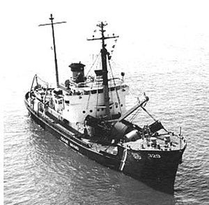 USS Barbican (ACM-5) - Image: U.S. Coast Guard Cutter Ivy