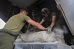 U.S. Marines transport supplies to build Ebola Treatment Units 141121-M-PA636-014.jpg