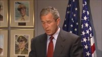 File:U.S. President George W. Bush's remarks from Barksdale Air Force Base, Louisiana (September 11, 2001).ogv
