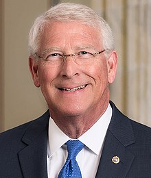 U.S. Senator Roger F. Wicker Official Portrait, 2018 (cropped).jpg