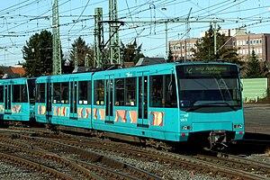 Frankfurt U-Bahn - U4 car 509