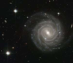 Spiral galaxy - Barred spiral galaxy UGC 12158.