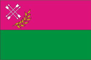 Lozova - Image: UKR Лозова́ flag