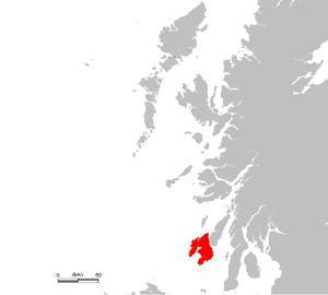 Location of Islay (Ìle)