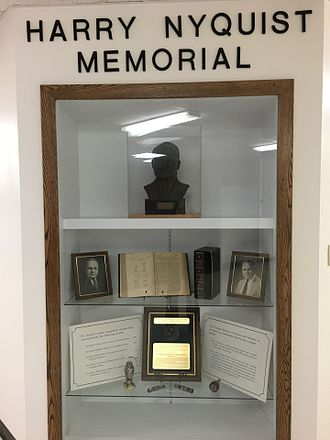 Harry Nyquist - Memorial to Harry Nyquist at the University of North Dakota's College of Engineering and Mines
