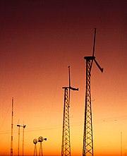 Éoliennes au Texas.