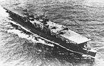 USS Cabot (CVL-28) underway at sea in 1945.jpg