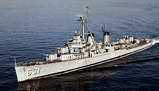 <i>Fletcher</i>-class destroyer 1940s class of destroyers of the United States Navy