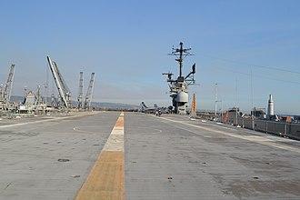 USS Hornet Museum - Image: USS Hornet Museum Flight deck 2