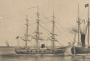 USS Marion 1839 U.S. Naval review at Hampton-Roads VA. in 1880 LCCN2004670676 (cropped).jpg