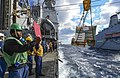 USS Monterey conducts a replenishment-at-sea. (11309408864).jpg