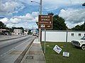 US 41 Dunnellon; Rainbow Springs and Trailers Park Sign.JPG