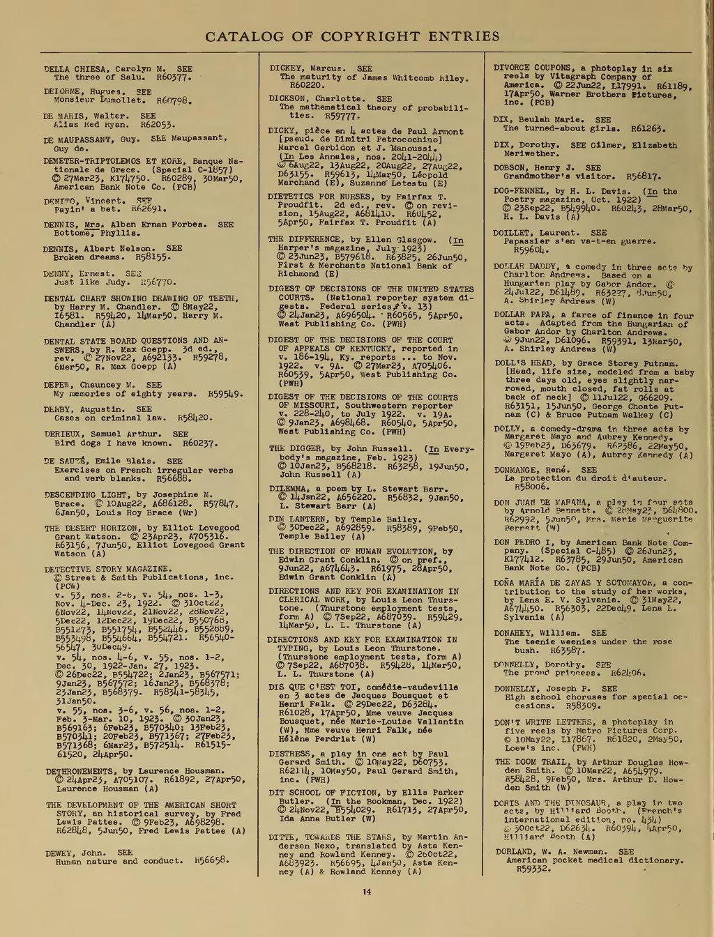 Page:US Copyright Office - Renewal Registrations - 1950 djvu