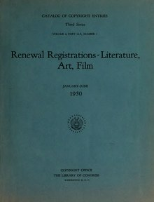 US Copyright Office - Renewal Registrations - 1950.djvu
