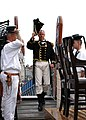 US Navy 050730-N-0335C-001 U.S. Navy Cmdr. Thomas C. Graves steps aboard USS Constitution prior to becoming the 69th commanding officer of the historic ship.jpg