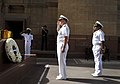 US Navy 100412-N-8273J-028 Chief of Naval Operations (CNO) Adm. Gary Roughead renders honors during a wreath laying ceremony at Amar Jawan Jyoti in New Delhi.jpg
