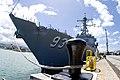 US Navy 100601-N-6674H-003 Sailors prepare USS Chung-Hoon (DDG 93) to get underway before departing on a western Pacific deployment.jpg