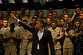 US Navy 100615-N-6403H-002 President Barack Obama addresses service members at the Naval Air Technical Training Center at Naval Air Station Pensacola.jpg