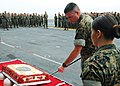 US Navy 101110-N-2218S-043 Col. Andrew MacMannis, commanding officer of the 31st Marine Expeditionary Unit (31st MEU),.jpg