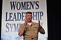 US Navy 110316-N-0767O-962 Master Chief Petty Officer of the Navy Rick D. West, speaks to attendees of the 24th annual Joint Women's Leadership Sym.jpg