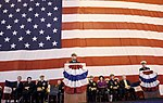 US Navy 111029-N-FC670-115 Chief of Naval Operations (CNO) Adm. Jonathan Greenert delivers remarks during the commissioning for the Virginia-class.jpg