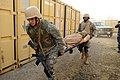 US Navy 120112-N-GO179-011 Sailors transport a patient during the tactical combat casualty care training Program.jpg