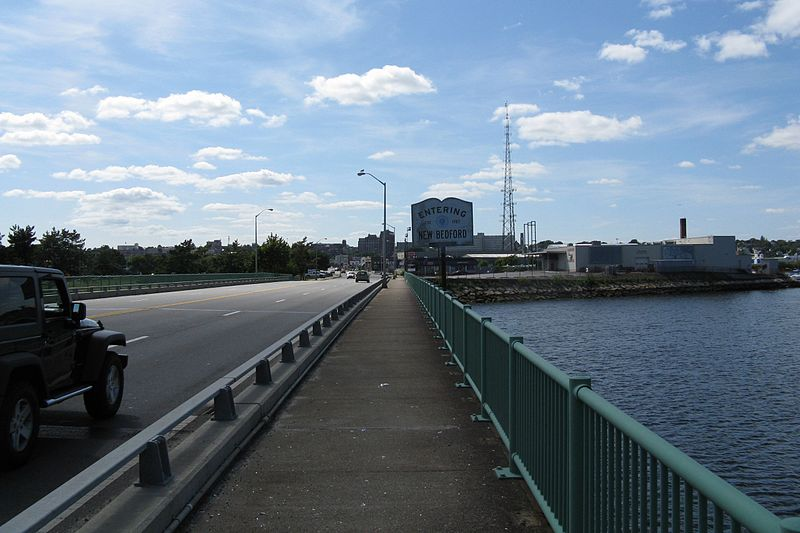 File:US Route 6 westbound entering New Bedford, MA.jpg